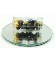 Mixed Iced Beads - 10mm
