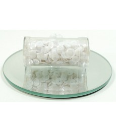 White Cup Sequins 6mm