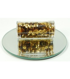 Gold Cup Sequins 6mm