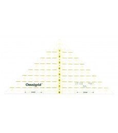 "Omnigrid 8"" Right Triangle Ruler"