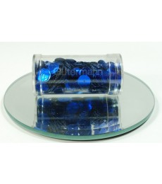 Blue Flat Sequins 8mm