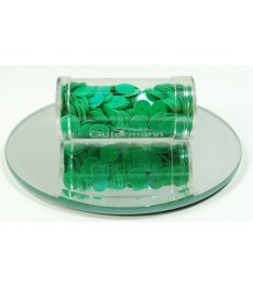 Green Flat Sequins 8mm