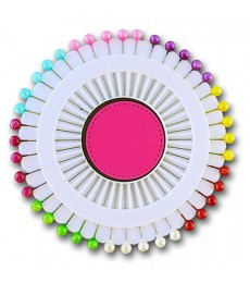 Plastic Head Dressmaking Pins 40 pk