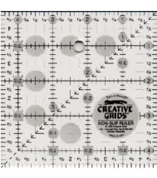 "Creative Grid 4.5"" Square Quilting Ruler"