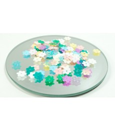 Flower Sequins - Pastel Multi Colours