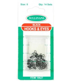 Hook & Eye's - Black - size 0