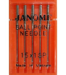 Janome Needles Ball Point size 11- pk 5