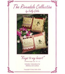 TRC - Keys to my Heart Cushion Set