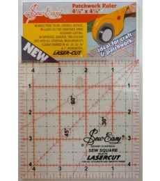 "Sew Easy 4.5"" Square Quilting Ruler"