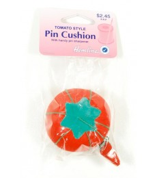 Tomato Pin Cushion with Sharpener