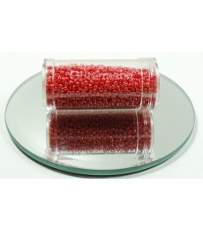 Red Dark Seed Beads