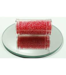 Pink Red Seed Beads