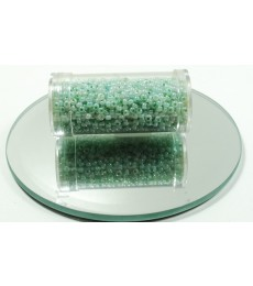 Green Pale Seed Beads