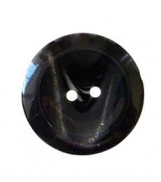 Large Sparkle Button - Black